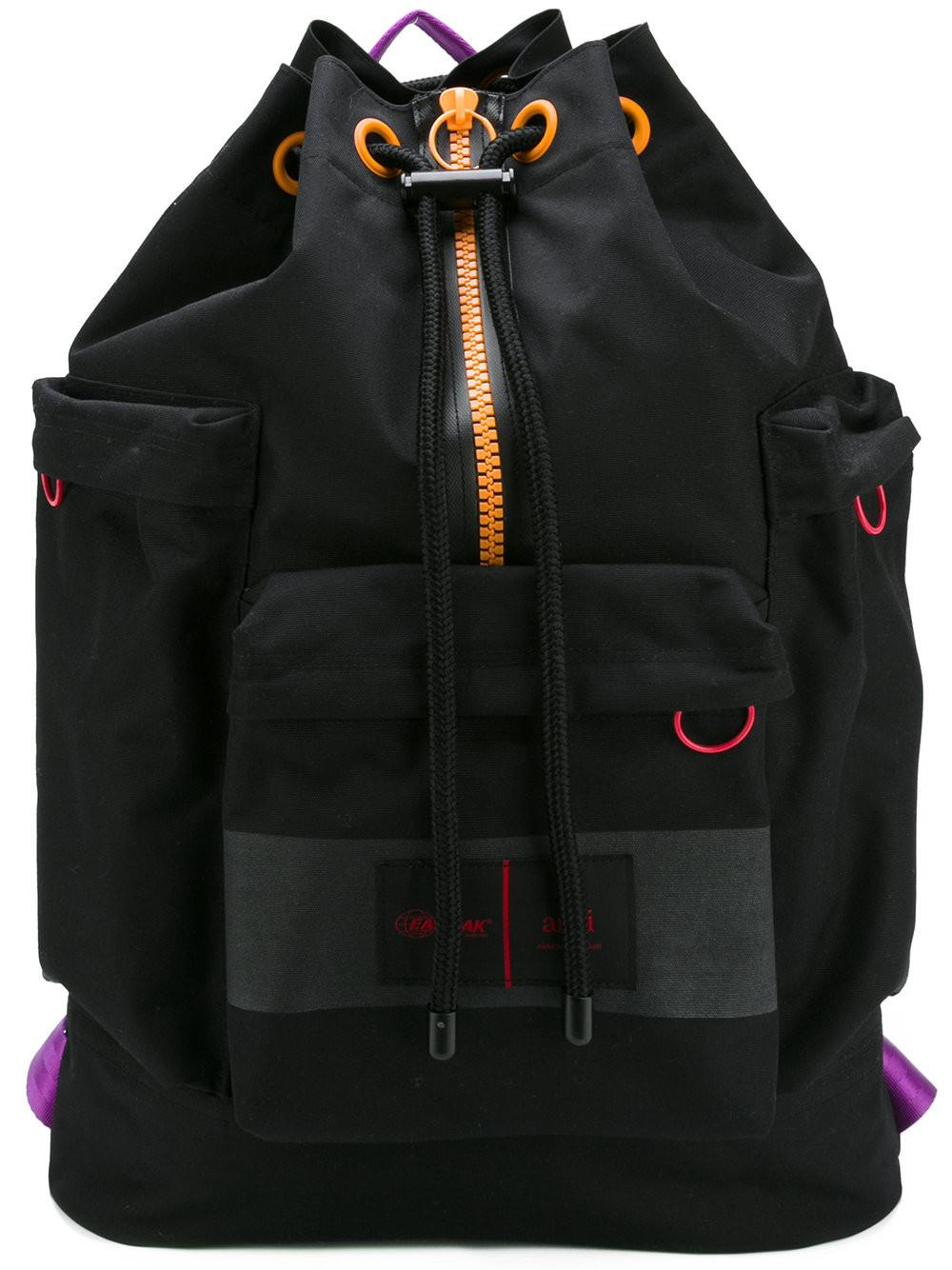 AMI  ALEXANDRE MATTIUSSI Ami X Eastpak Drawstring Backpack