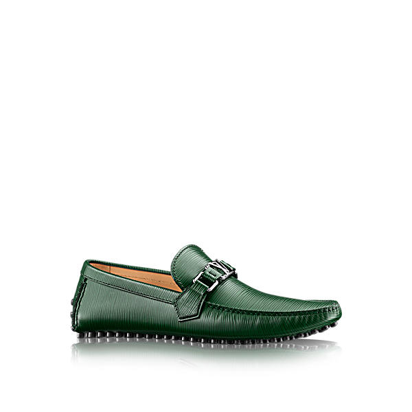 LOUIS VUITTON Hockenheim Moccasin in Kaki