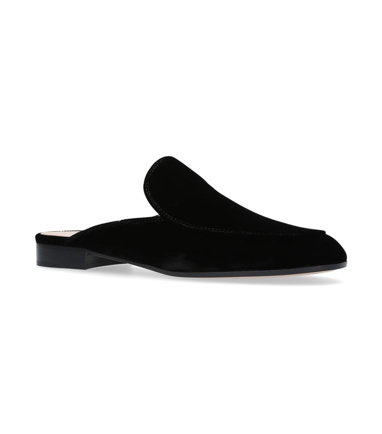 Gianvito Rossi Suedes Palau Slippers
