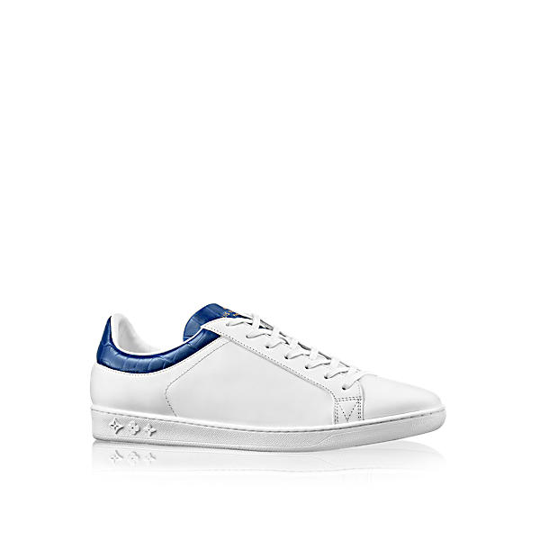 LOUIS VUITTON Luxembourg Sneaker in Bleu