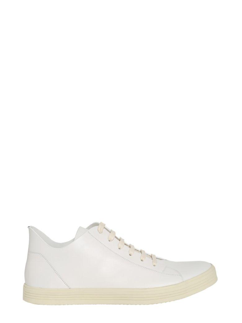 RICK OWENS Low Top Sneakers in Bianco