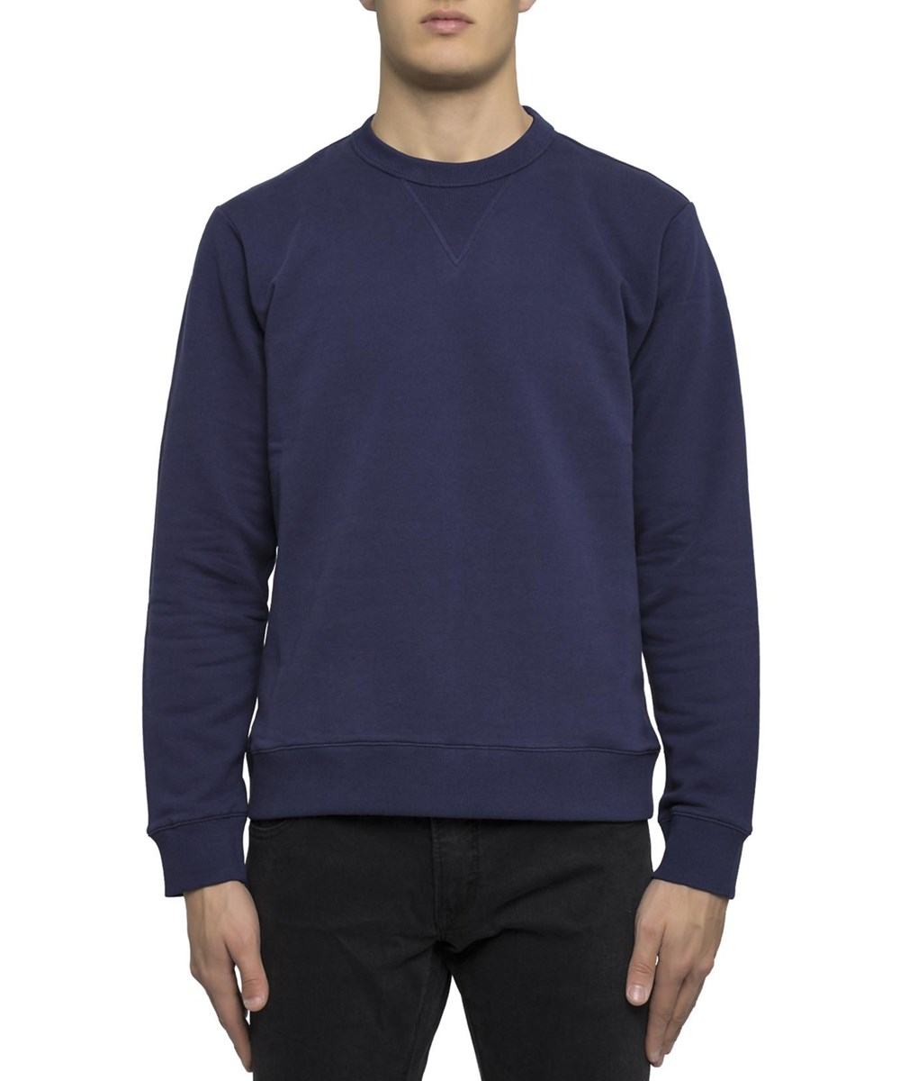 KENZO Men'S  Blue Cotton Sweatshirt'