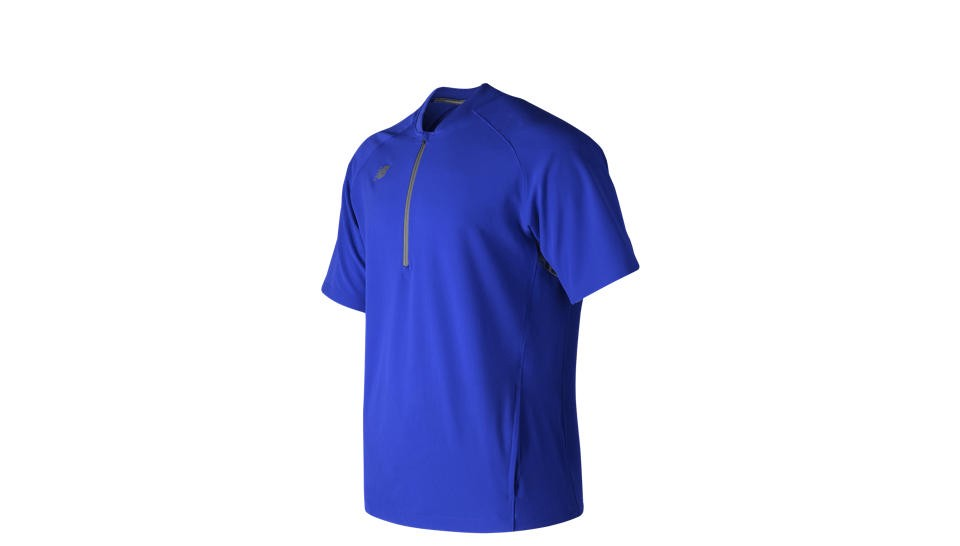 NEW BALANCE Short Sleeve 3000 Batting Jacket in Team Royal