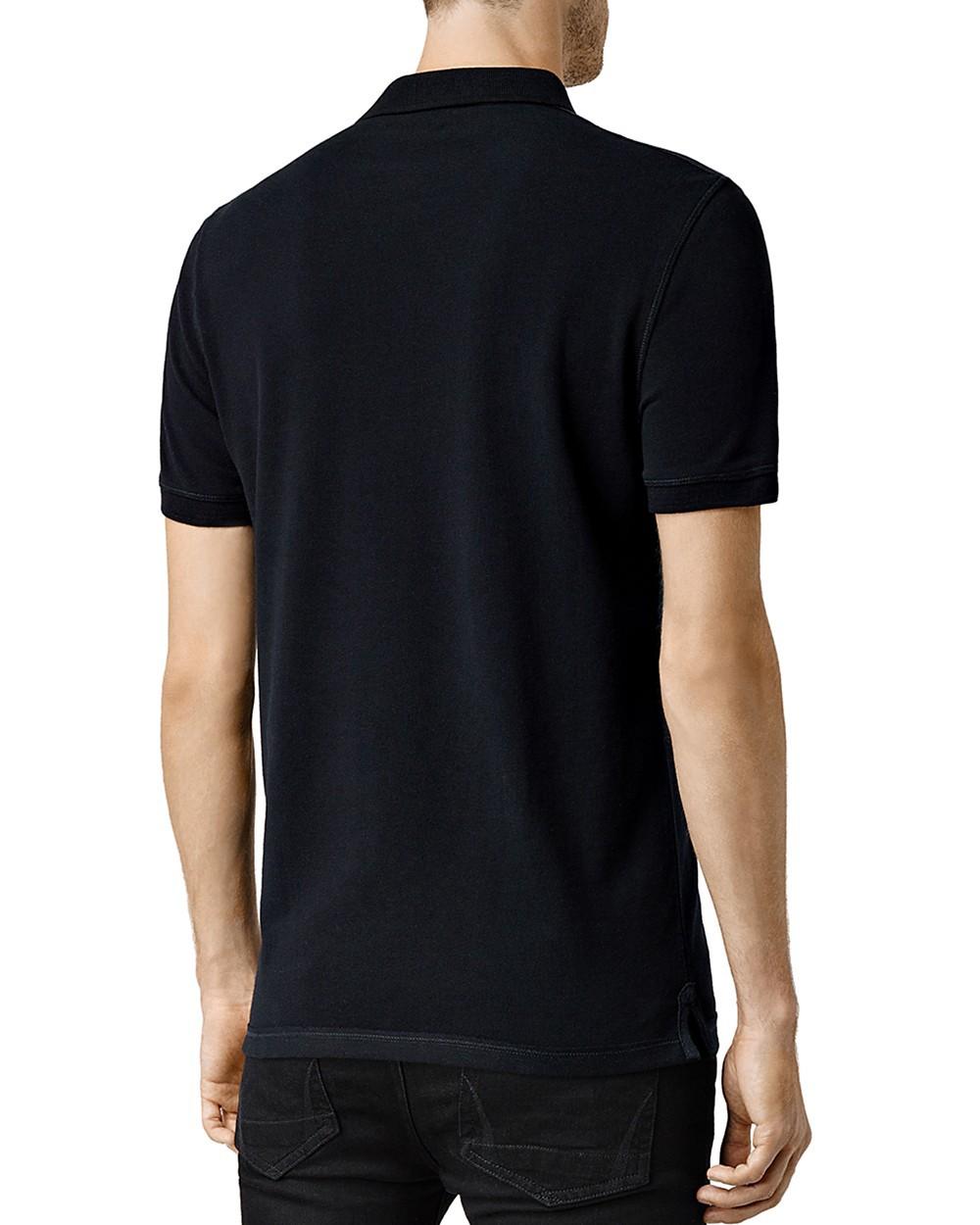 Allsaints Knits ALLSAINTS Reform Slim Fit Polo Shirt