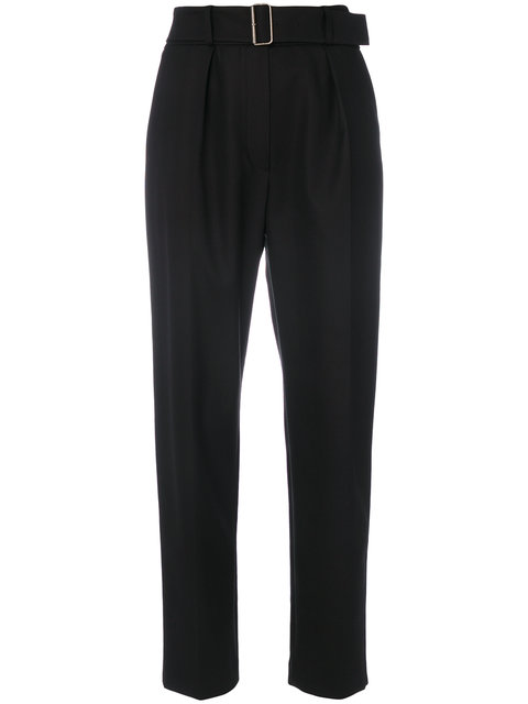 Kenzo  KENZO CROPPED TROUSERS - BLACK