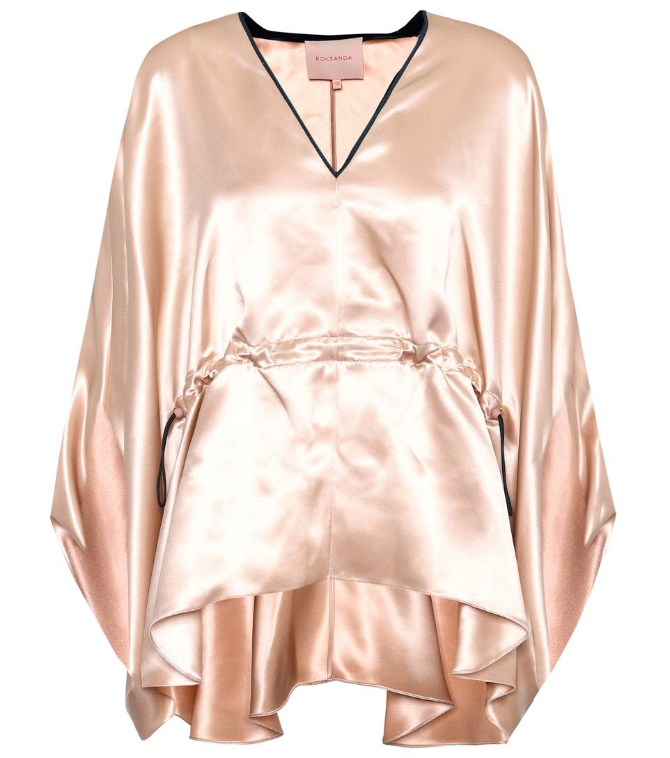 Roksanda  Shiro silk-satin top
