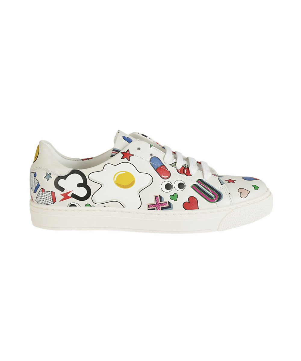 Anya Hindmarch  ANYA HINDMARCH WOMEN'S  MULTICOLOR LEATHER SNEAKERS