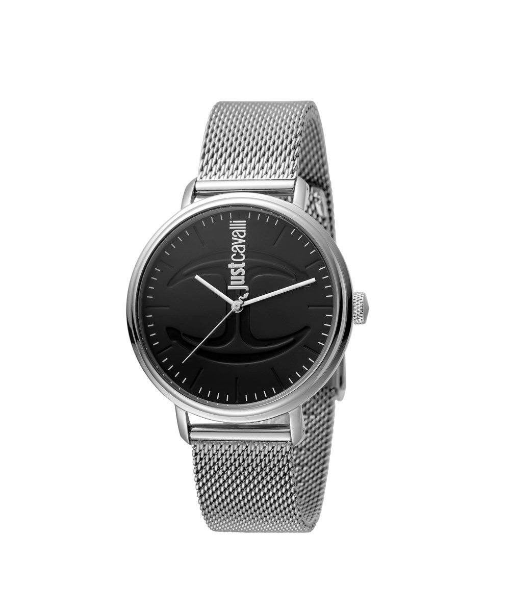 Just Cavalli  JUST CAVALLI: MENS STAINLESS STEEL WATCH WITH BLACK DIAL