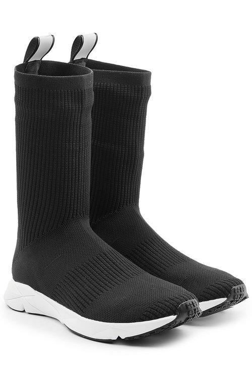 REEBOK Sock Runner Ultraknit Sneakers in Black
