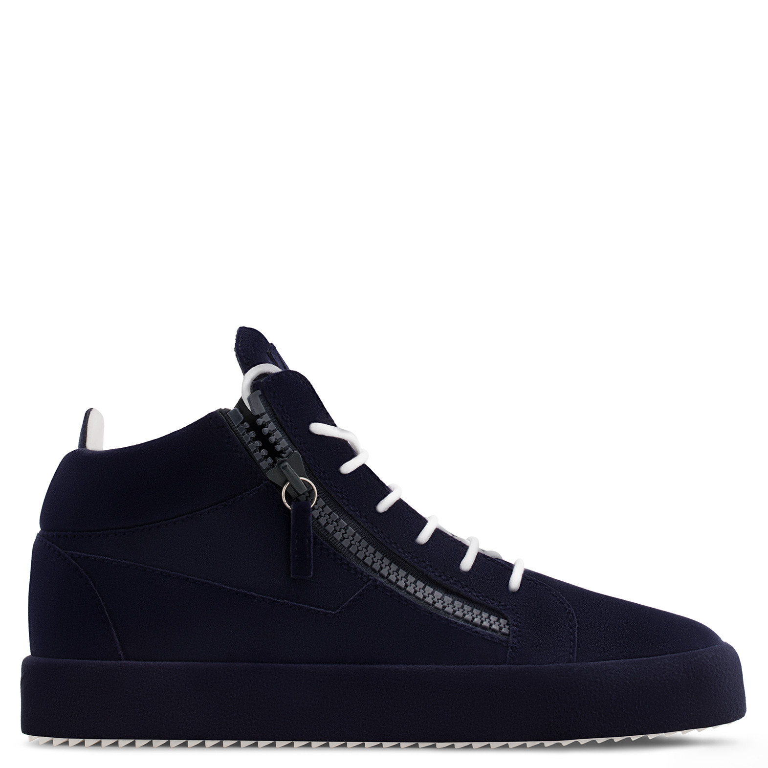 Giuseppe ZanottiUnfinished Collection: Dark mid-top sneaker THE UNFINISHED 9tZQ9GQ8YK