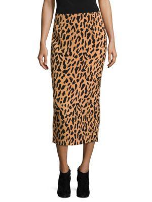 Diane Von Furstenberg  Tailored-Fit Midi Pencil Skirt