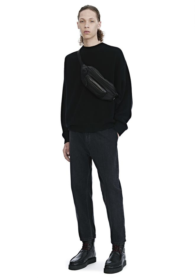 Alexander Wang  CREW NECK LONG SLEEVE PULLOVER