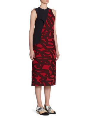 Proenza Schouler  Layered Jacquard Dress