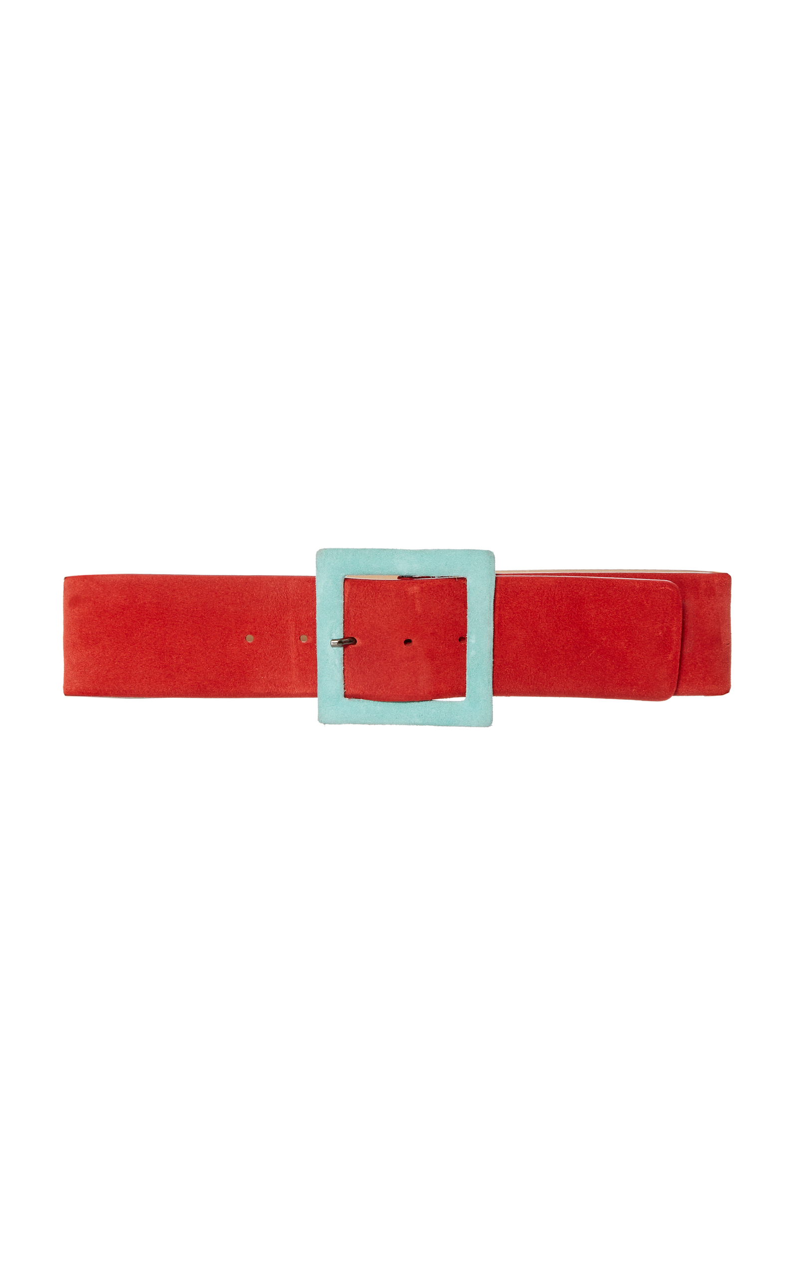 Carolina Herrera  Suede Buckle Belt