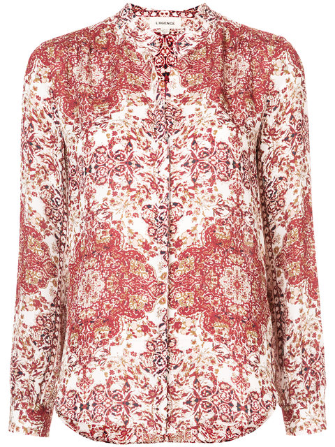 BIANCA SILK BLOUSE