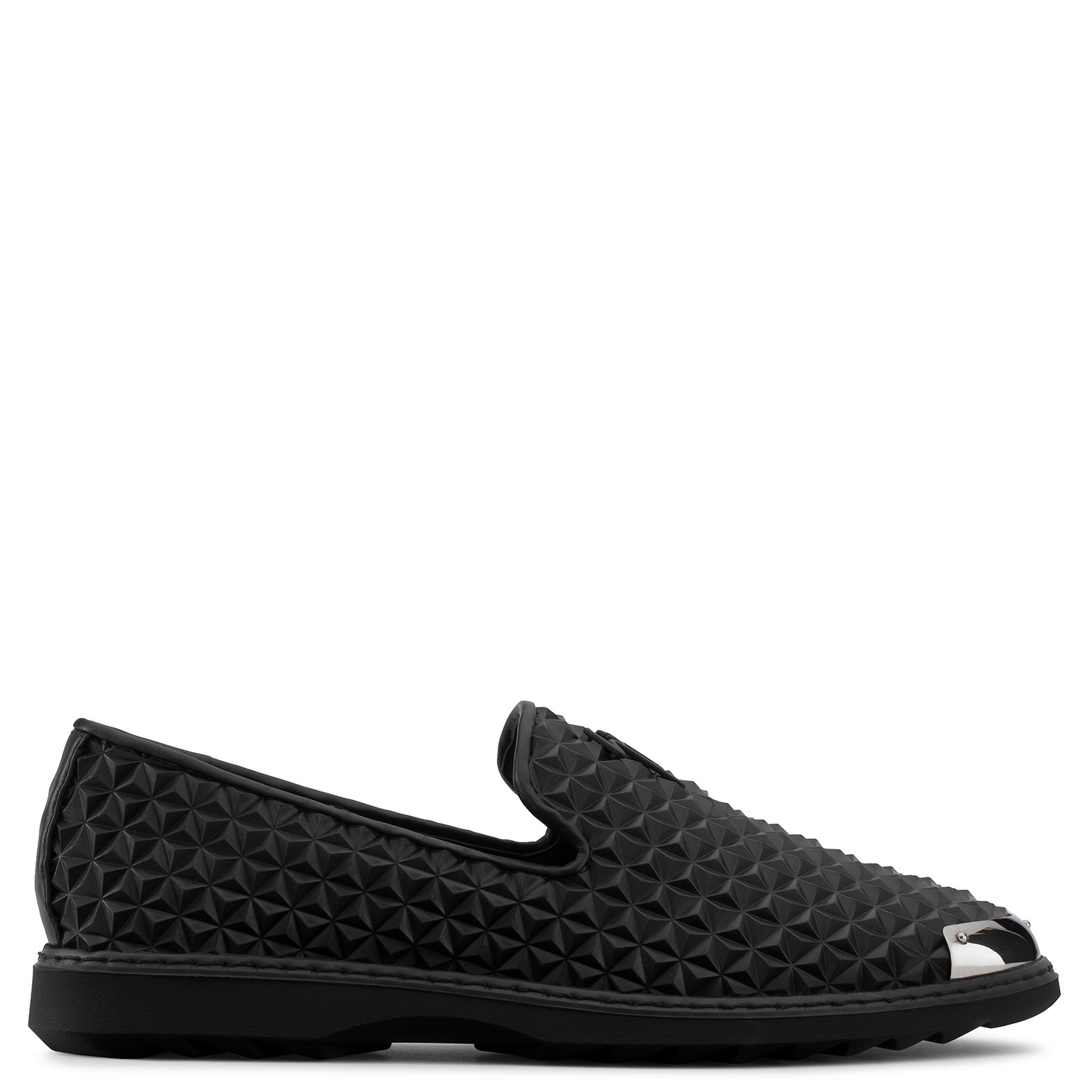 Free Shipping Professional Footlocker Cheap Price Giuseppe Zanotti Black 3D printed leather loafer with metal tip CEDRIC MANHATTAN Buy Cheap Sneakernews Order Shop 3CgnQ