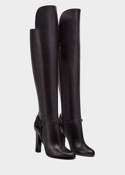 Knee-High Signature Boots