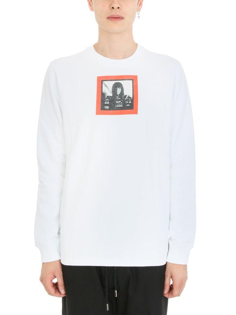 Givenchy  Givenchy Print White Cotton Sweatshirt