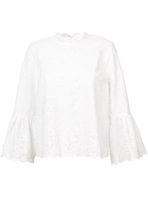 Ulla Johnson  flared sleeves blouse