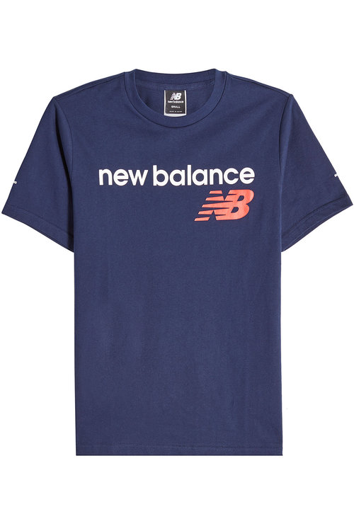 New Balance  Printed Cotton T-Shirt