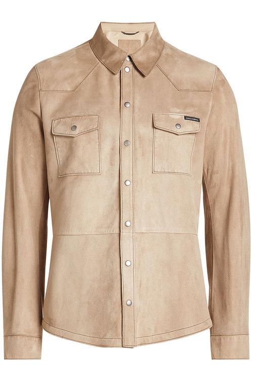 Dolce & Gabbana  Suede Shirt