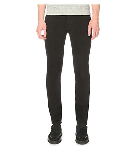 Allsaints Denims Crow Cigarette slim-fit skinny jeans