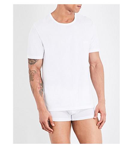 Hugo Boss  Pack of three crewneck cotton-jersey T-shirts