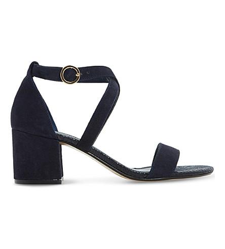 Dune  Montie criss-cross suede sandals