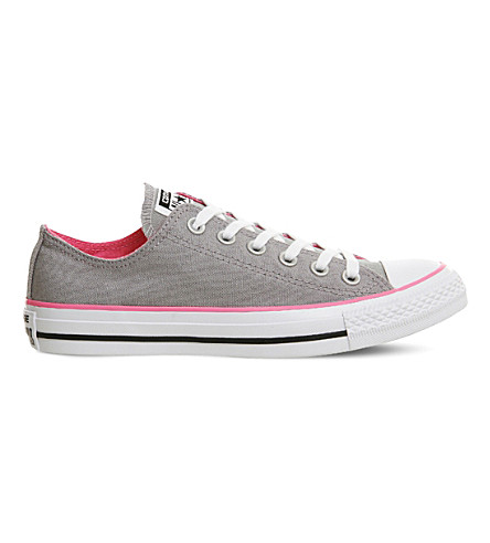 All Star low-top canvas trainers