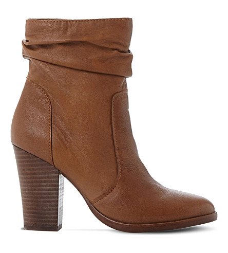 Hunk slouchy leather boots
