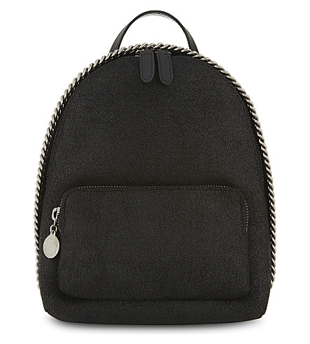 FAUX LEATHER MINI FALABELLA BACKPACK