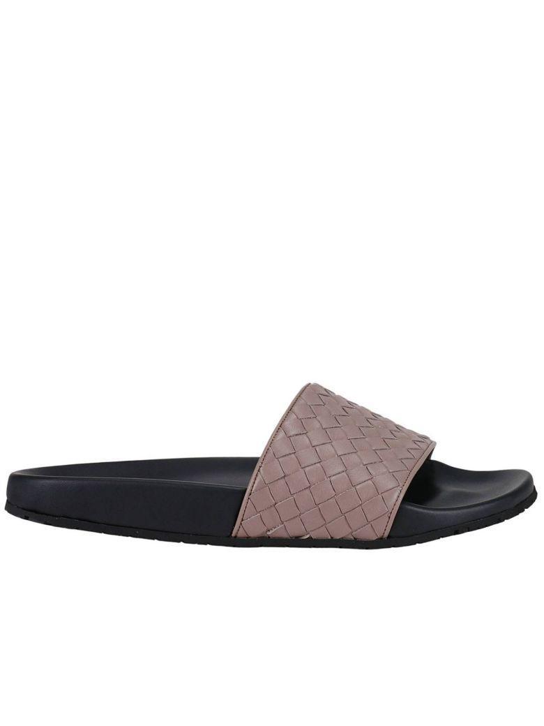 Bottega Veneta Leathers Flat Sandals Shoes Women Bottega Veneta