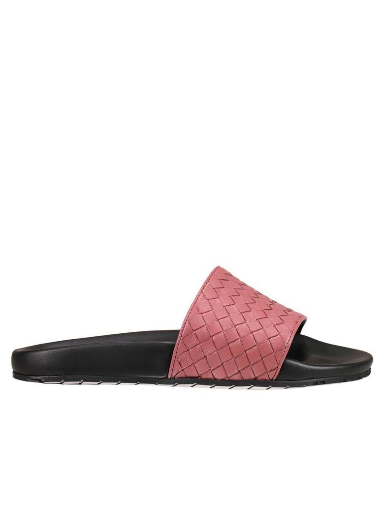 Bottega Veneta Leathers Flat Sandals Shoes Woman Bottega Veneta