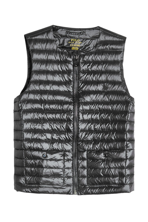 Quilted Vest with Down Filling