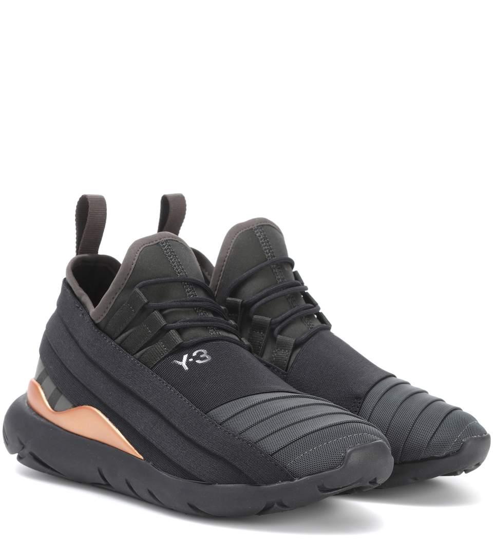 Y-3 Qasa Elle Lace 2.0 Sneakers, Llack Olive-Y3