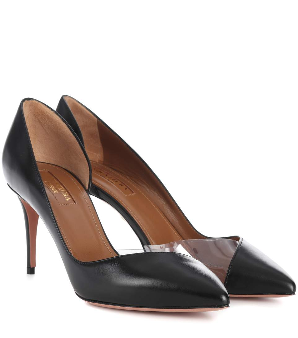 ECLIPSE 75 LEATHER PUMPS