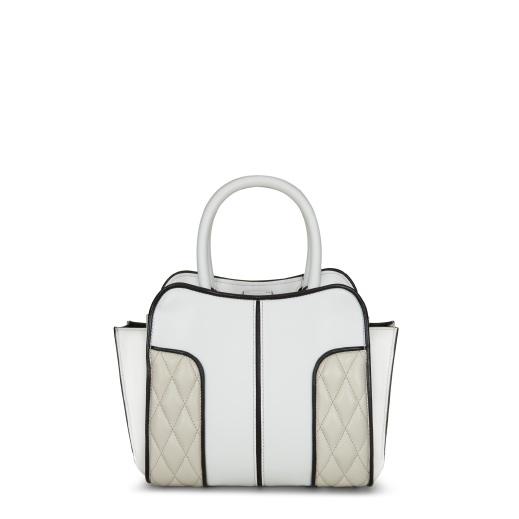 SELLA QUILTED LEATHER TOTE