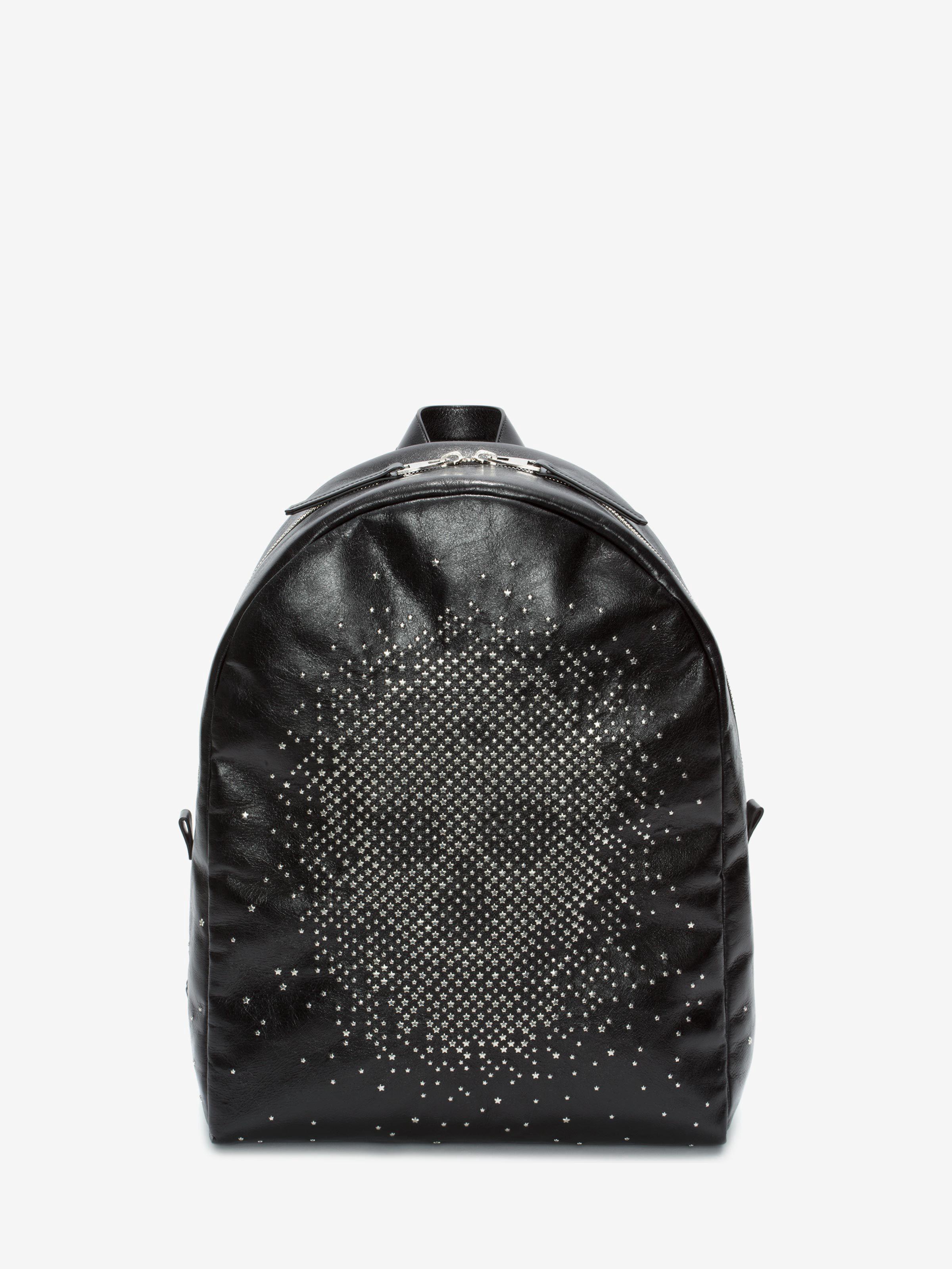 Alexander Mcqueen Leathers Exploded Studded Skull Backpack
