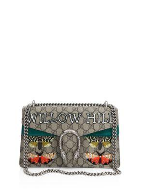 Multicolor Willow Hill' Dionysus Embroidered Shoulder Bag