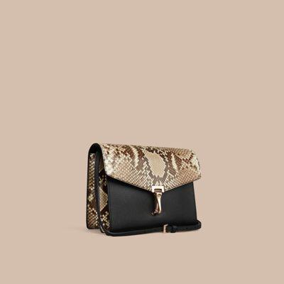 Small Python Crossbody Bag