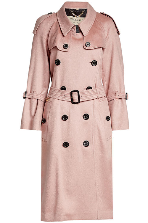 Burberry Cashmeres CASHMERE TRENCH COAT