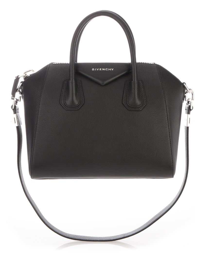 "BLACK ""ANTIGONA"" SMALL HANDBAG"