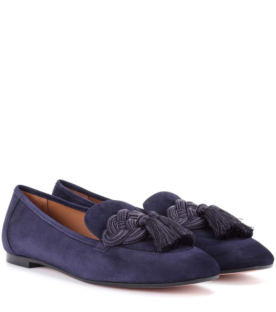 LEGEND SUEDE LOAFERS