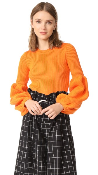 KSENIA SCHNAIDER WOOL MIX SWEATER