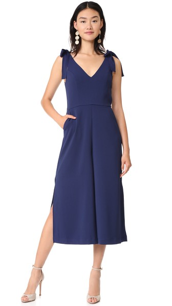 Iris Jumpsuit Amanda Uprichard Clearance The Cheapest Manchester Cheap Price Outlet Eastbay Wholesale Price Cheap Price wFTksOu