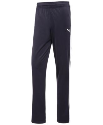 PUMA Men'S Tricot Contrast Track Pants in Blue
