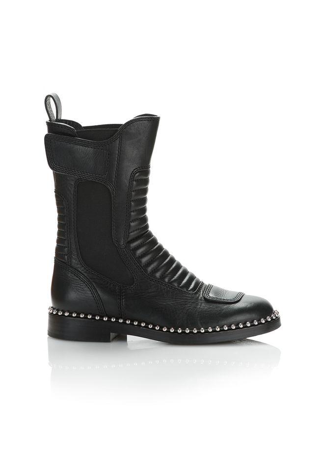 Black Mica Ball Stud Boots