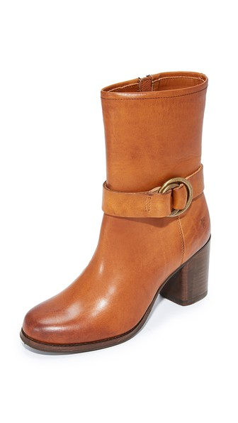 WOMEN'S ADDIE HARNESS MID-SHAFT BOOTS WOMEN'S SHOES