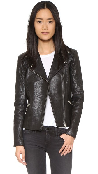 DALLAS ORION LEATHER JACKET - 100% EXCLUSIVE