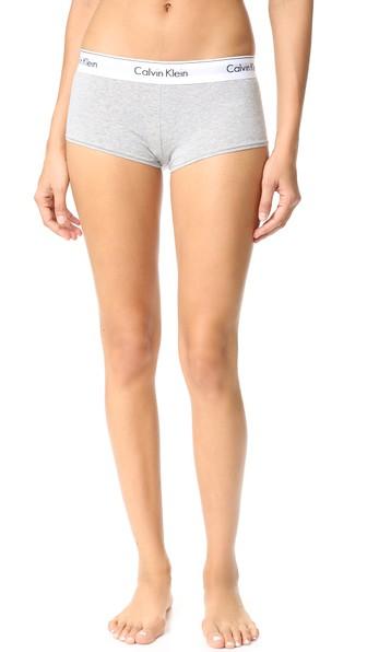 213945483c69f CALVIN KLEIN UNDERWEAR Modern Cotton Boy Shorts
